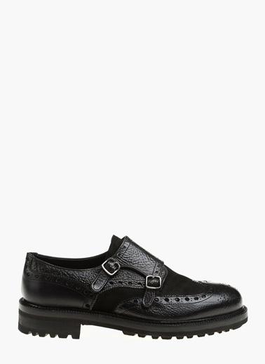 Network %100 Deri Klasik Ayakkabı Siyah